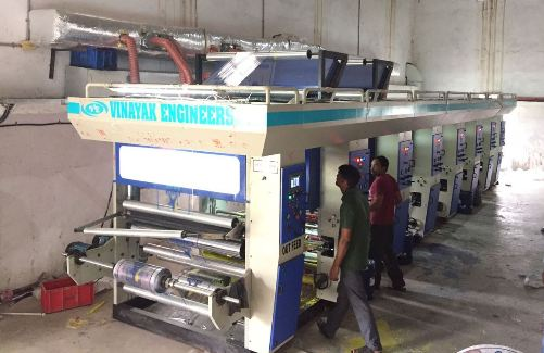 6 Colour High Speed Rotogravure Machine