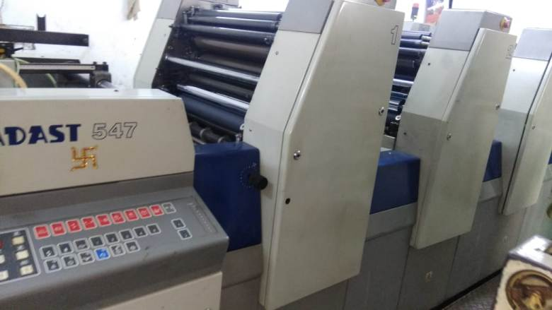 Secondhand 4 Colour Offset Printing Machine