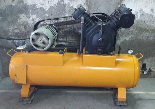 10 HP Air Compressor Crompton Motor
