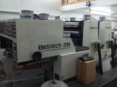 Akiyama Bestech 228 2 Colour Offset Press