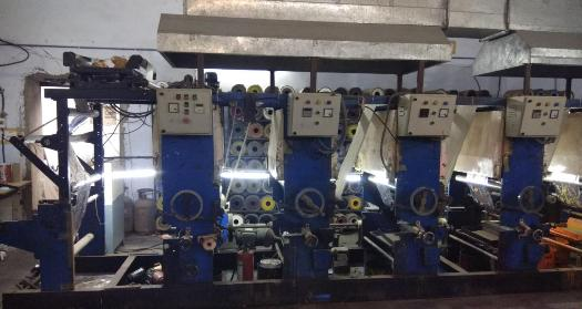 6 Color Rotogravure Machine Alpha
