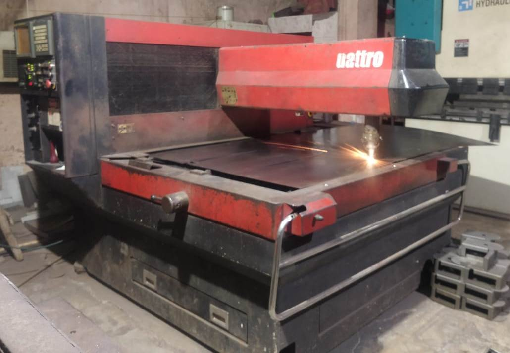 Amada CO2 Laser Cutting Machine