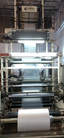Monolayer Blown Film Machine Shubham Extrusion