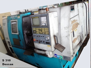 Doosan CNC Machine S310