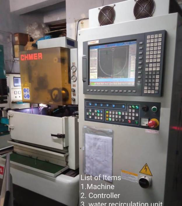 Used EDM Wire Cutting Machine