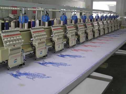 Sheen Embroidery Machine 15 Head