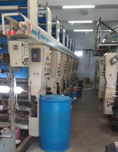 Fadia 8 Colour Rotogravure Machine