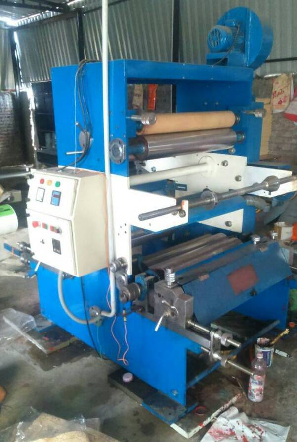 2 Colour Flexo Machine Vaishno Poly Flex
