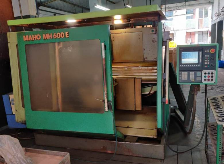 Maho MH600E CNC Horizontal Machining Center