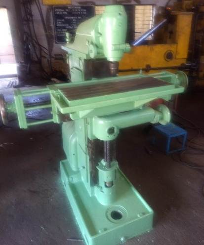 Swiss Imported Tool Room Milling Machine