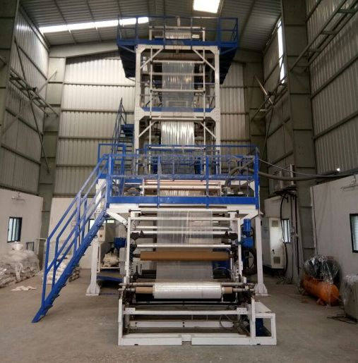 Kabra Blown Film Plant With Rotogravure Machine