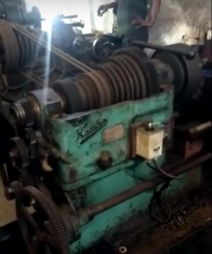 Secondhand Kirloskar Lathe Machine