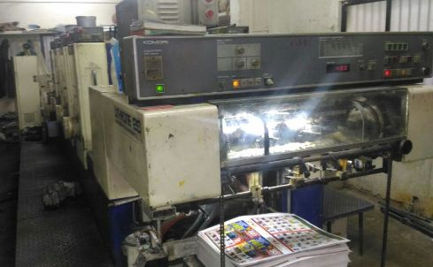 Komori Lithrone 426 Offset Printing Press