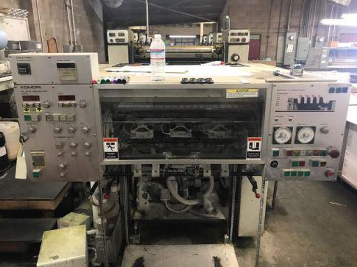 4 Colour Offset Printing Machine Komori 426