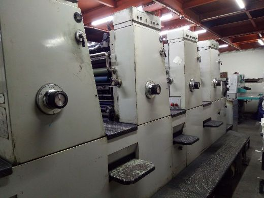 Komori Four Colour Offset Machine 432