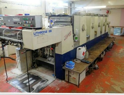 Komori Lithrone 528 ES Offset Machine