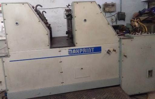 2 Colour Offset Printing Machine Max