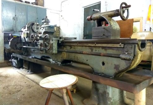 Used Lathe Nagmati 10 Feet