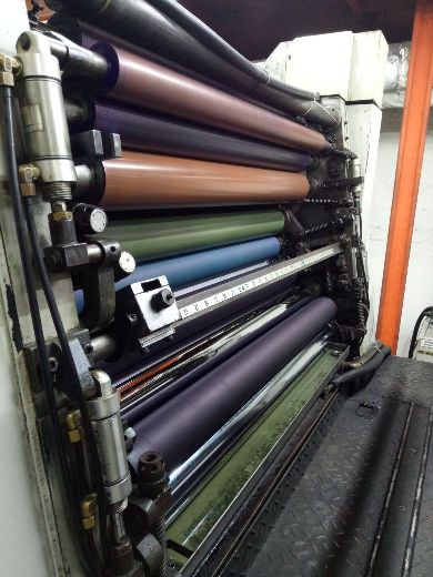 old-four-colour-offset-printing-machine-