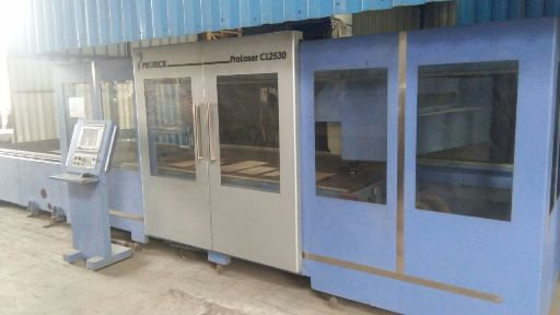 Proteck Laser Cutting Machine Auto Pallet Changer