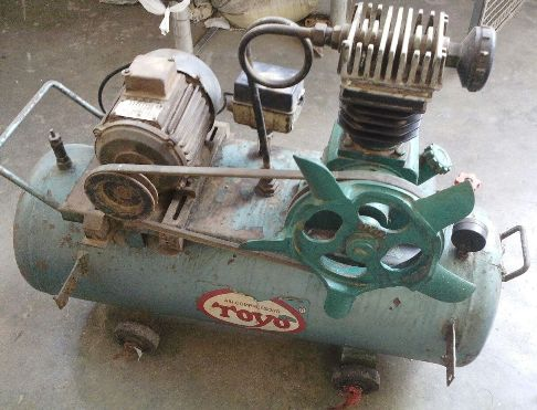 Toyo Reciprocating Compressor 1 HP