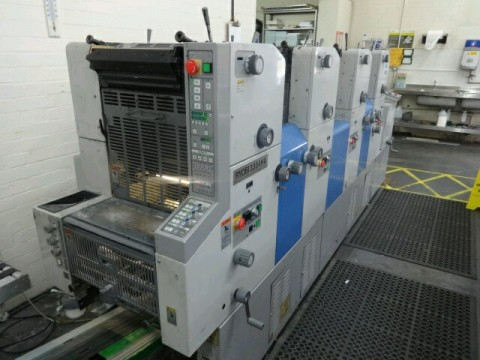 Ryobi 3304 HA 4 Colour Offset Printing Machine