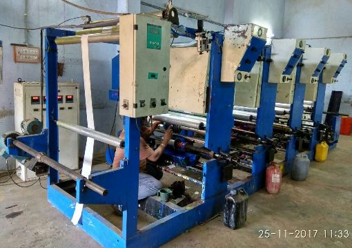 Secondhand Rotogravure Machine 4 Colour
