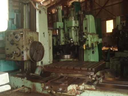 TOS Boring Machine H100A