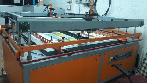 Umrao Screen Printing Machine Flat Bed