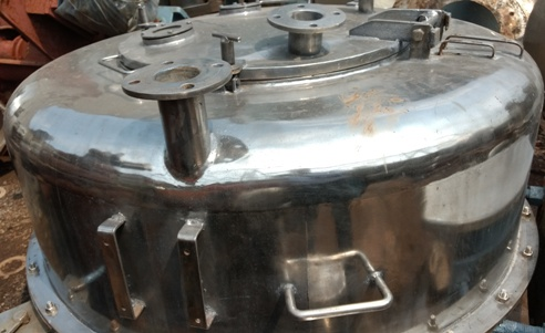 3 Leg SS Industrial Centrifuge Machine