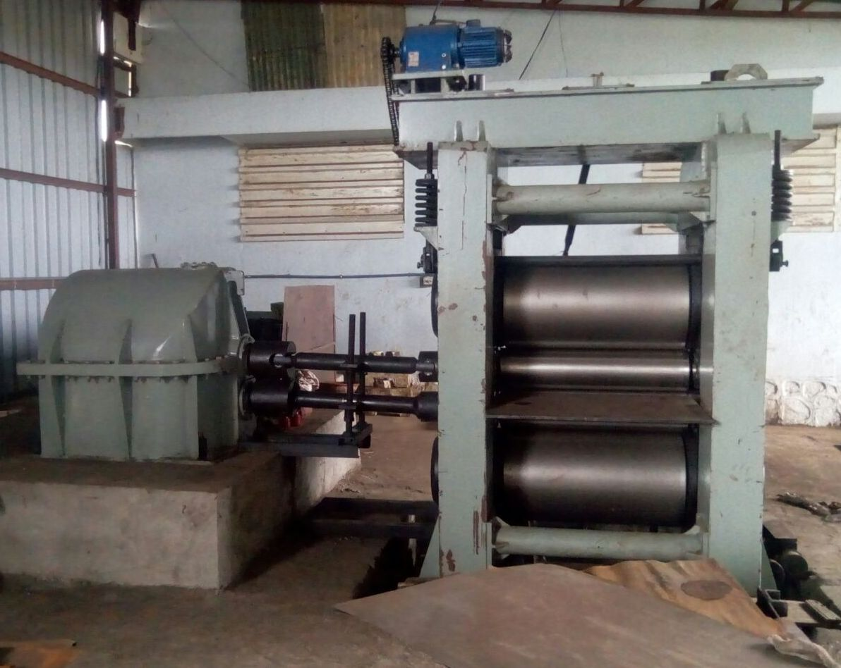 Used 4 HI Cold Rolling Mill 1 Meter