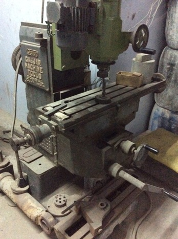 Used Milling Machine For Sale Milling Machine Price Auction ...