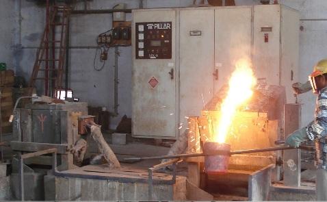 Pillar Induction Furnace 100 KW