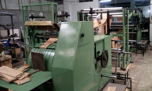 Paper Bag Forming Machine With Printing Machine