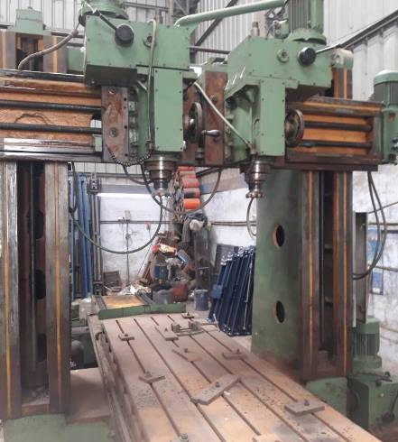 Used Plano Miller Double Column Sagar