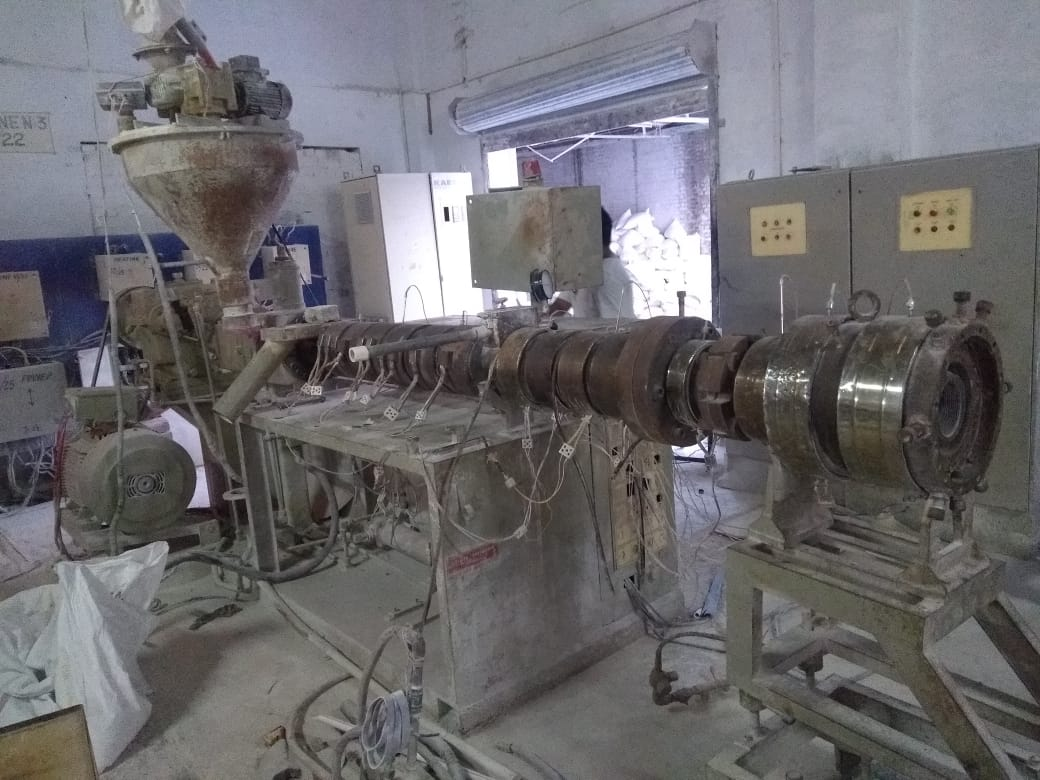 used-pvc-pipe-line-