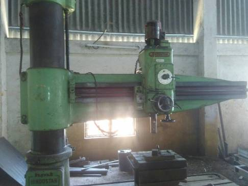 used-radial-drilling-machine-hmt-
