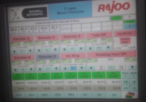 used-rajoo-blown-film-extruder-
