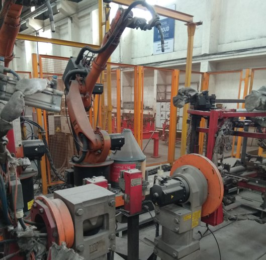 Secondhand Welding Robots Kuka R16