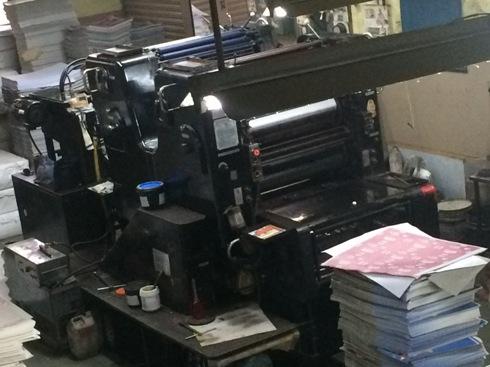 Heidelberg Offset Printing Machine 2 Colour