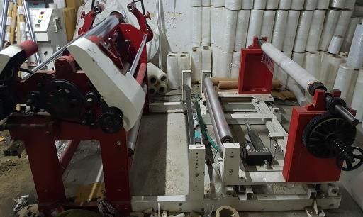 Ctrivedi Slitter Rewinder Machine 1 Meter
