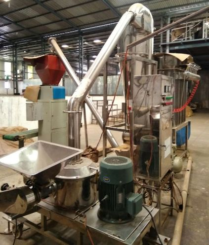 SS Pulverizer Spices Grinding Machine