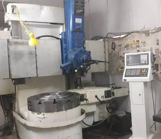 CNC VTL Machine Kirloslar Dynacut