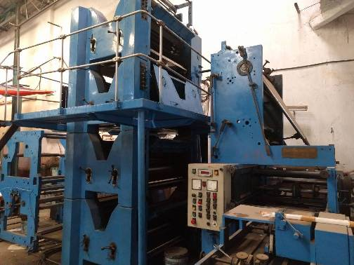 Naph Web Offset Printing Machine 4HI Tower 508 Cuttoff